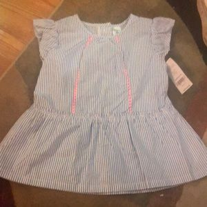 Sleeveless blouse 3T NWT
